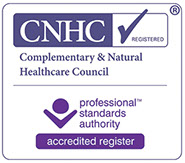 Link to Lesley Cooks registration on the governments CHNC website, the registry of complementary therapists.