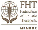 link to the Federation of Holistic Therapists membership log for Lesley Cook
